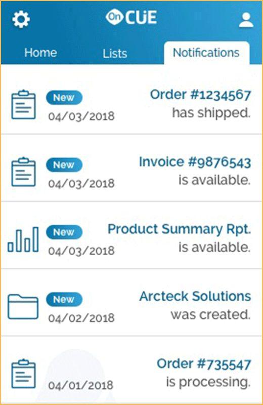 Order-Updates